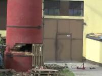Wyburzenie komina po polsku