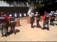 Wybuchowa akcja podczas szkolenia