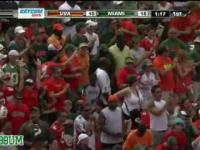 Niesamowita akcja w futbolu amerykańskim