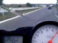Yamaha R6 vs.Opel Astra 2.0 Turbo