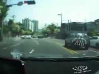 Jeśli opanowanie samochodu, wypadku szalony