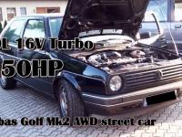 Brutal Golf Mk2 1150HP 16V Turbo