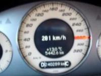 Pirat na autostradzie A4 pędzący 300 km/h