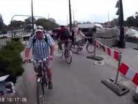 Rowerzysta zatrzymany przez policję