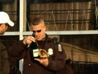 Picie napoju w miejscu publicznym