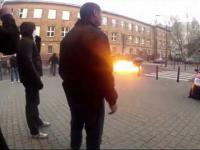 Atak na Squat podczas Marszu Niepodległości