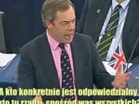 Nigel Farage - obecna sytuacja w Grecji i Włoszech