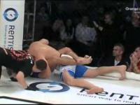 Marcin Najman wygrywa po raz pierwszy w MMA! Prawie udusił rywala