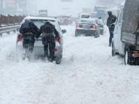 Śnieżna Apokalipsa w Kijowie 22-23 Marca 2013 Snowboard