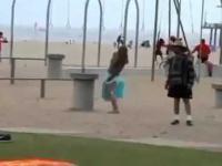 Trolling na plaży