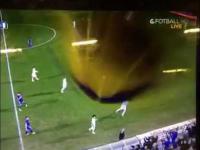 Ramos trafia w widzów za ekranami