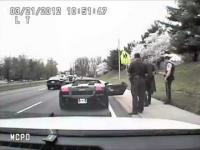 Batman zatrzymany przez policję