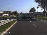 Polskie drogi: zawracanie jak kretyn