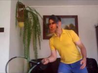 Rafael trenuje Nadal