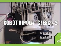 Śmieszny robot daje czadu