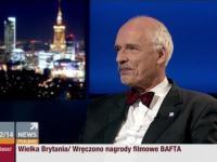 Janusz Korwin-Mikke w programie Wydarzenia Opinie Komentarze 17.02.2014