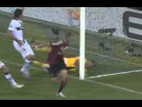 Piekny gol Jéréme'go Ménez'a w meczu ligi włoskiej