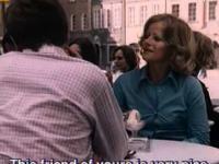 Strasburger opowiada kawał w filmie z lat 70