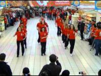 Flash Mob w Auchanie