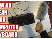 How to Clean Your Computer Keyboard