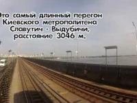 Nietypowy przejazd Metrem - Kijów