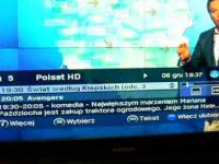 Wpadka z prognozą pogody na Polsacie (06.12.2014)