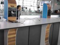 Ładowarka na lotnisku w Brukseli
