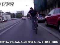 Pretensjonalny rowerzysta