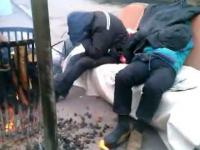 Strajk rolników w Szczecinie