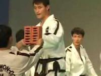 Taekwondo-pięści,nogi ze stai!!!!!!.