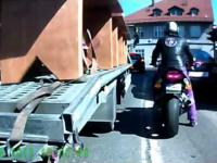Sposób na fotoradar wg motocyklisty