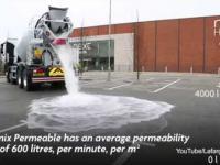 Znikające 880 galonów wody z betoniarki