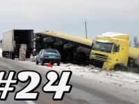Car Crash Compilation #24 | Luty