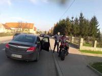 BMW S1000RR kontra Police
