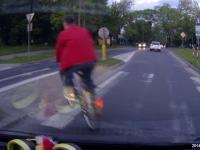 Rowerzyści na drodze II