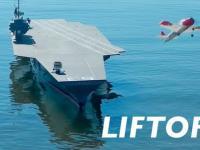 Zdalnie Sterowane modele samolotów startują z Zdalnie Sterowanego Lotniskowca.