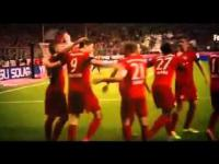 Robert Lewandowski 5 Goals in 9 Minutes Bayern Munich vs Wolfsburg 5 1 2015 HD