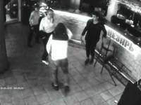 Próbował obmacywać kelnerkę