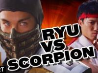 Mortal Kombat vs. Street Fighter in Real Life