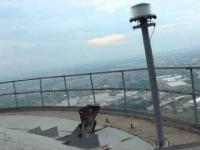 Widok z komina (260 metrów)