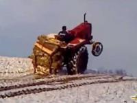 Jazda traktorem - Like a BOSS