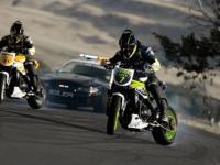 Radiowóz kontra motocykle