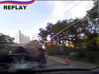 Próba wymuszenia odszkodowania - kierowcę uratował rejestrator