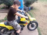 Nauka jazdy na motocyklu