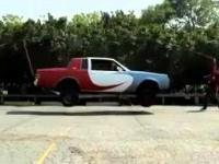 Auto skaczące na skakance