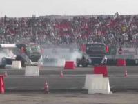 ciężarówka też może driftować!