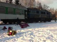 Wypadek na przejeździe w Wadowicach