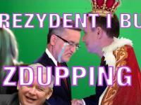 Prezydent i bul - Zdupping