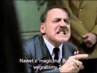 Hitler dowiaduje się o przegranej Niemiec