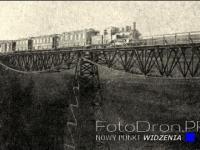 Zabytkowy most kolejki wąskotorowej w Koronowie